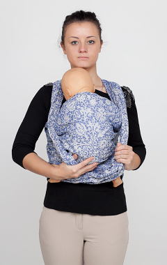 Breastfeeding in a wraparound sling