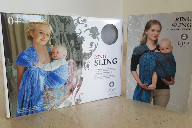 Diva Milano Ring Sling Package
