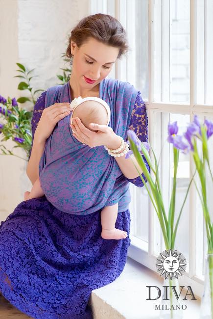 Babywearing Photography: Diva Milano