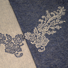 Reticella with Wool: Diamante Blu