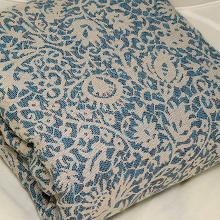 Veneziano 100% Cotton: Marrone Blu