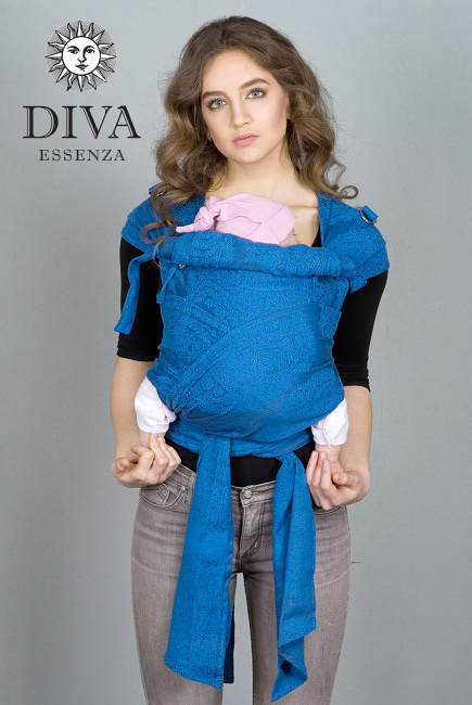 Diva Essenza Mei Tai 100% cotton: Oltremare