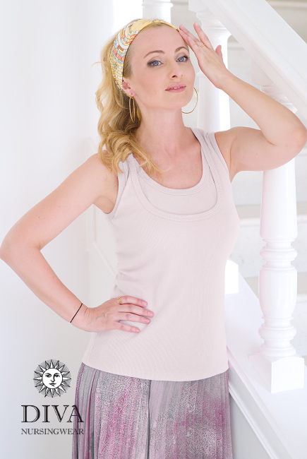 Nursing Top Diva Nursingwear Eva, Bianco