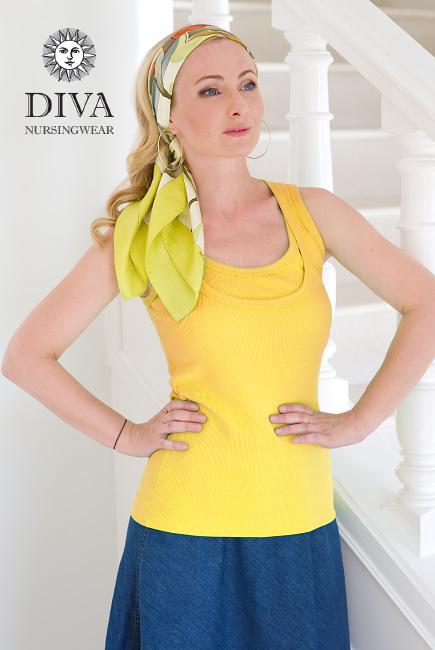 Nursing Top Diva Nursingwear Eva, Limone