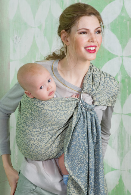 Diva Basico 100% cotton: Damasco Ring Sling