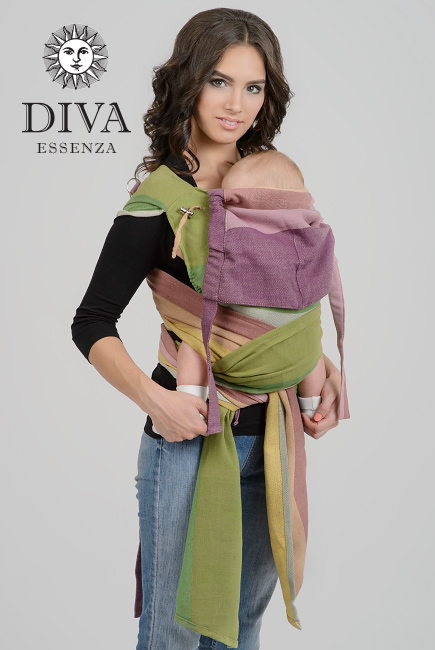 Diva Essenza Mei Tai 100% cotton twill weave: Estate