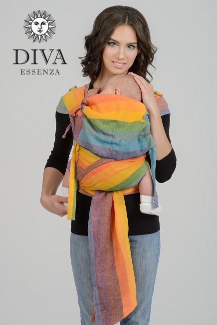 Diva Essenza Mei Tai 100% cotton twill weave: Fiesta