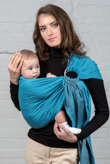 Diva Basico 100% cotton: Lago Ring Sling