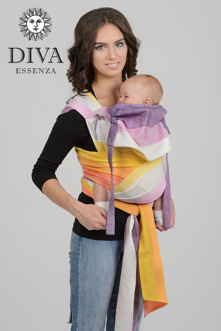 Diva Essenza Mei Tai 100% cotton twill weave: Mattina