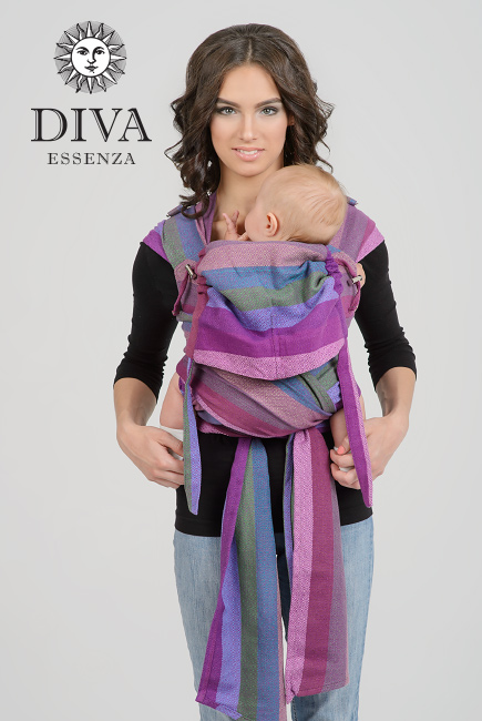 Diva Essenza Mei Tai 100% cotton diamond weave: Musa