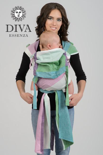 Diva Essenza Mei Tai 100% cotton twill weave: Sirena