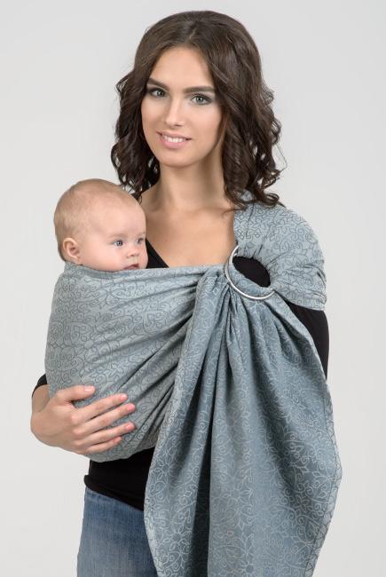 Diva Basico 100% cotton: Argento Ring Sling