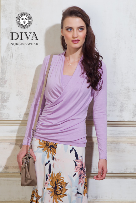 Nursing Top Diva Nursingwear Denila, Lavanda