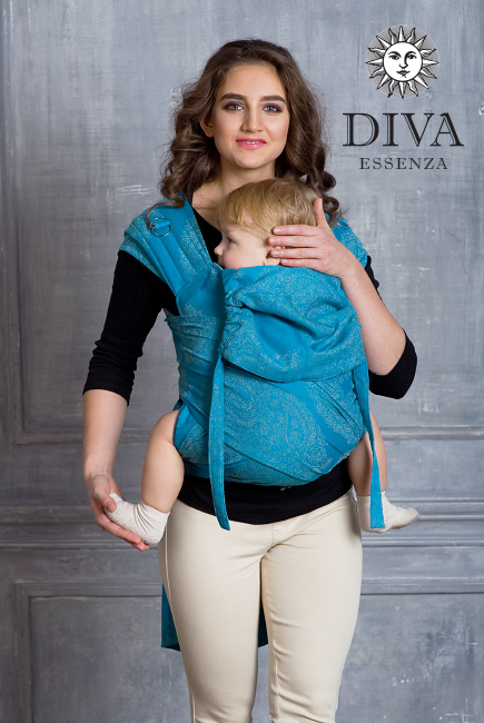 Diva Toddler Mei Tai 100% cotton: Lago