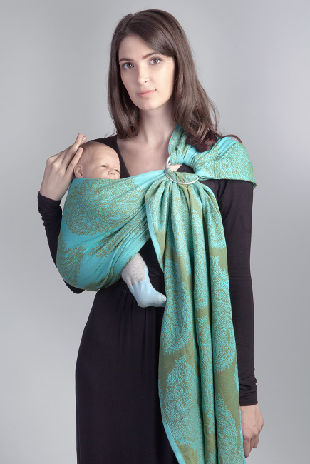 Diva Essenza Menta Bamboo Ring Sling