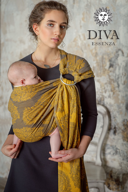 Diva Essenza 100% cotton: Savana Ring Sling