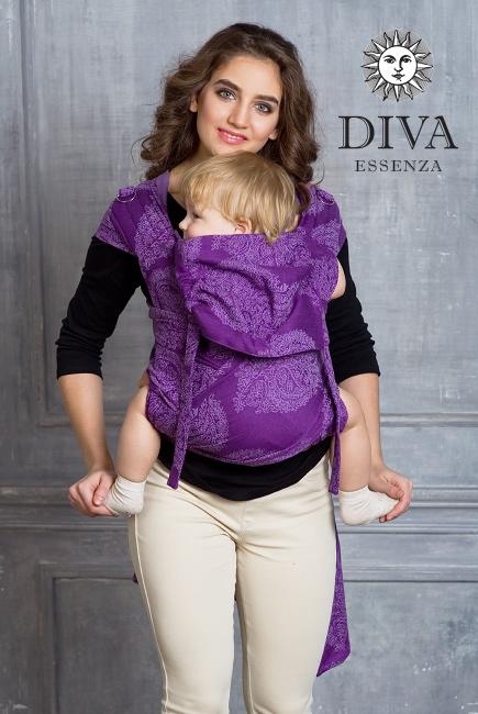 Diva Toddler Mei Tai 100% cotton: Viola