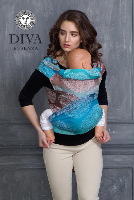Diva Toddler Mei Tai 100% cotton: Oceano