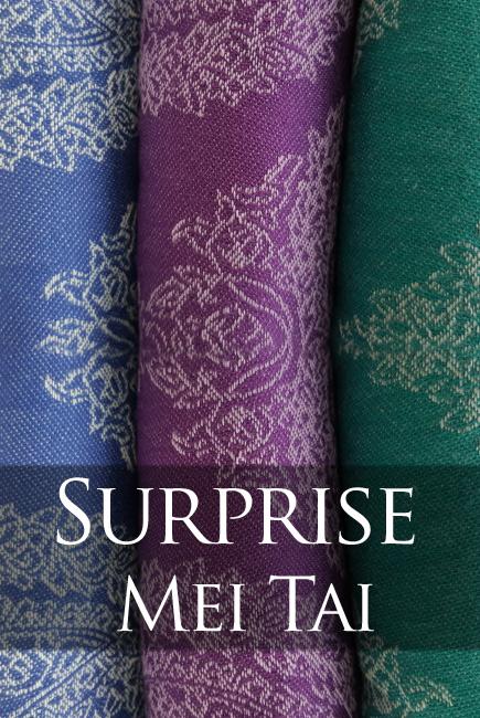 Diva Essenza Mei Tai 100% cotton: Surprise Mei Tai