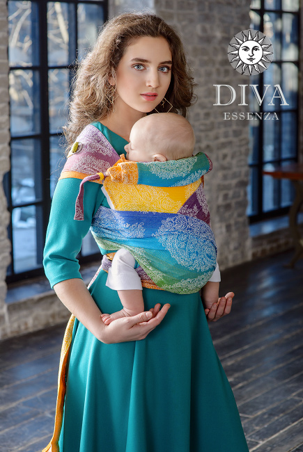 Diva Essenza Mei Tai 100% cotton: Tropico