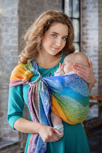 Diva Essenza 100% cotton: Tropico Ring Sling