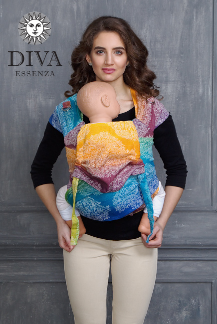 Diva Toddler Mei Tai 100% cotton: Tropico