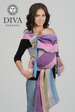 Diva Essenza Mei Tai 100% cotton twill weave: Porto