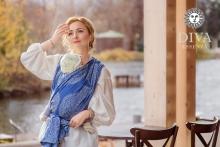 Diva Essenza with Linen: Azzurro
