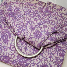 Veneziano 100% cotton: Viola Ring Sling
