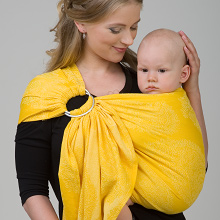 Diva Essenza 100% cotton: Limone Ring Sling