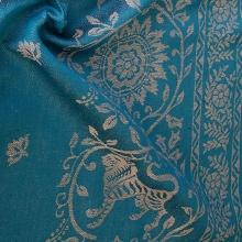 Barocco Lions with Linen: Petrel Ring Sling