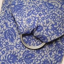 Veneziano 100% cotton: Azzurro Ring Sling