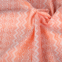 Etna with Linen: Arancio Ring Sling