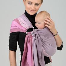 Diva Essenza 100% cotton twill weave: Zeffiro Ring Sling