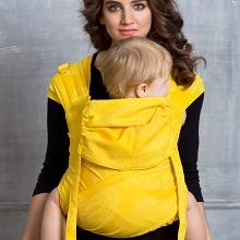 Diva Toddler Mei Tai 100% cotton: Limone