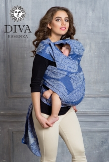 Diva Toddler Mei Tai 100% cotton: Azzurro