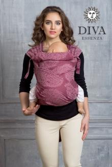 Diva Toddler Mei Tai 100% cotton: Berry