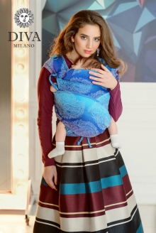 Diva Essenza Mei Tai 100% cotton: Fantasia