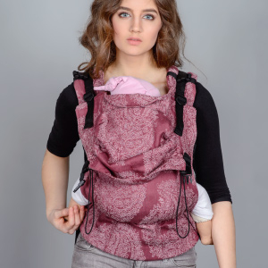 Buckle Baby Carrier: Front Carry (parallel straps)