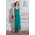 Nursing Dress Diva Nursingwear Alba, Smeraldo