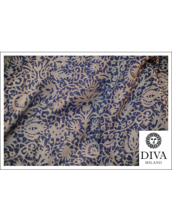 Diva Milano Veneziano with Wool: Azzurro