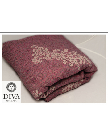 Diva Milano Reticella with Wool: Diamante Rosa