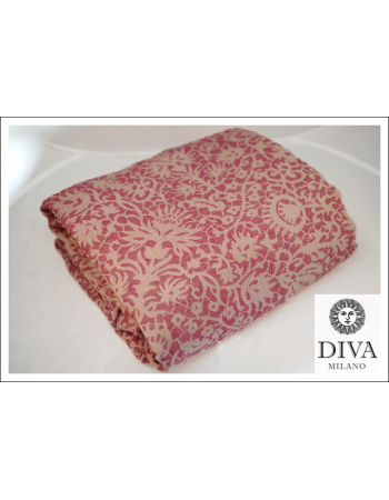 Diva Milano Veneziano with Wool: Rosa