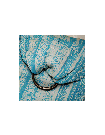 Merletti 100% Cotton: Turchese Ring Sling