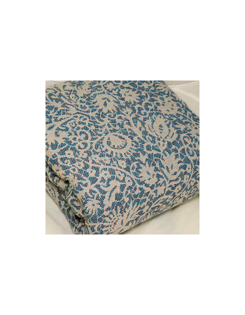 Veneziano 100% Cotton: Marrone Blu