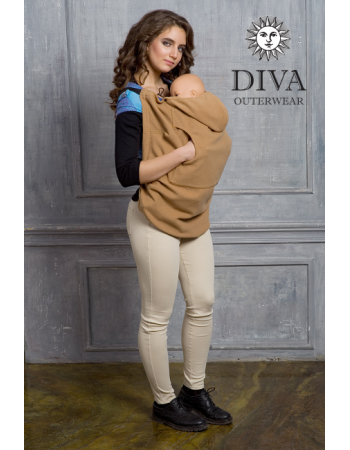 Wool Babywearing Cover, Camello