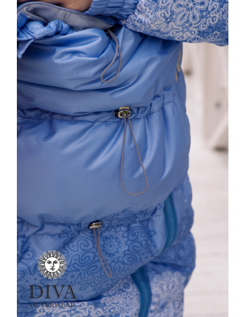 Babywearing Coat 3 in 1 (high-warm), CelesteBabywearing Coat 3 in 1 (high-warm), Azzurro