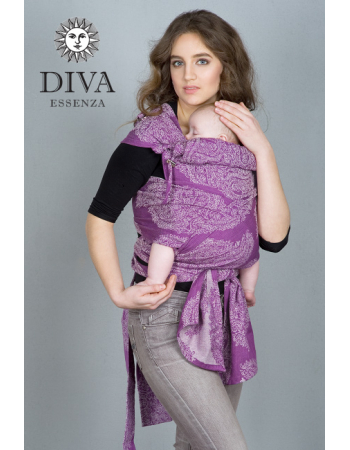 Diva Essenza Mei Tai 100% cotton: Lilla