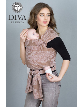 Diva Essenza Mei Tai 100% cotton: Moka