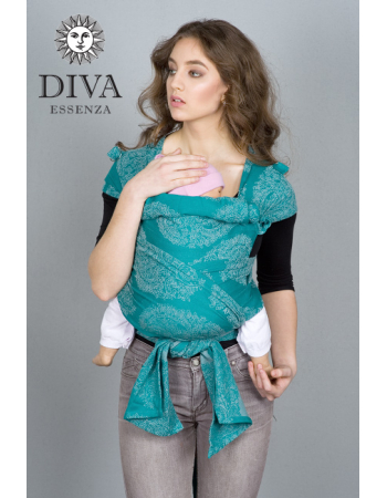 Diva Essenza Mei Tai 100% cotton: Smeraldo